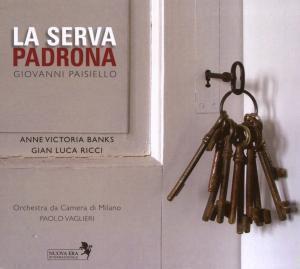 Paisiello: La Serva Padrona, A.v. Banks, G.l. Ricci, Vaglieri, Milano Ko