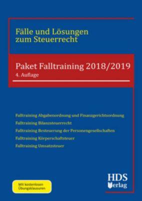 Paket Falltraining 2018/2019, 5 Bde., Woldemar Wall, Heiko Schröder, Siegfried Fränznick, Josef Schneider, Dennis Klein, Frank Neudert