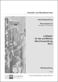 PAL-Leitfaden für die gestreckte Abschlussprüfung Teil 2: Pharmakant/-in