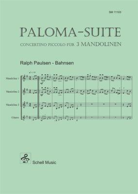 Paloma - Suite, für 3 Mandolinen (+ Gitarre ad lib.), Partitur + Stimmen, Sebastiàn de Yradier