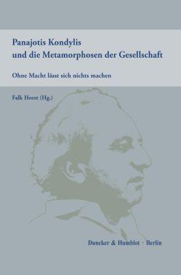 Panajotis Kondylis und die Metamorphosen der Gesellschaft. -  pdf epub