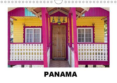Panama - Streifzüge durch atemberaubende Küsten-, Berg- und Stadtlandschaften (Wandkalender 2019 DIN A4 quer), Christian Hallweger