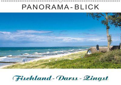 Panorama-Blick Fischland-Darss-Zingst (Wandkalender 2019 DIN A2 quer), Andrea Dreegmeyer