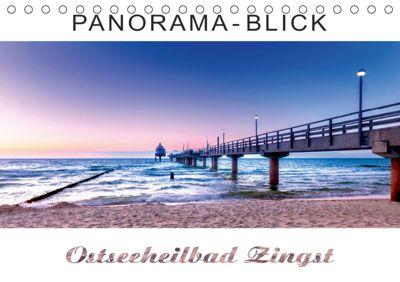 Panorama-Blick Ostseeheilbad Zingst (Tischkalender 2019 DIN A5 quer), Andrea Dreegmeyer