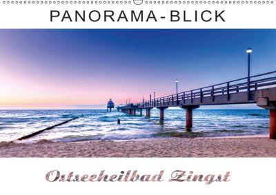 Panorama-Blick Ostseeheilbad Zingst (Wandkalender 2019 DIN A2 quer), Andrea Dreegmeyer