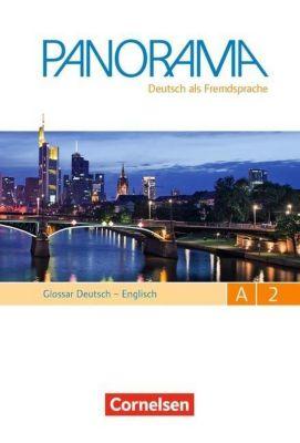 Panorama - Deutsch als Fremdsprache: Bd.A2 Glossar Deutsch-Englisch, Gesamtband