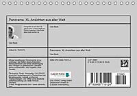 Panorama. XL-Ansichten aus aller Welt (Tischkalender 2019 DIN A5 quer) - Produktdetailbild 13