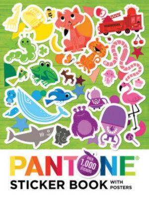 Pantone: Sticker Book, w. Posters, Pantone