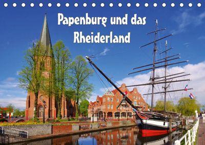 Papenburg und das Rheiderland (Tischkalender 2019 DIN A5 quer), LianeM