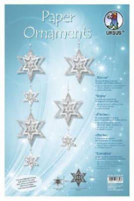 Paper Ornaments Sterne (24 Stück), URSUS®