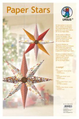 Paper Stars (Motiv: Lounge)
