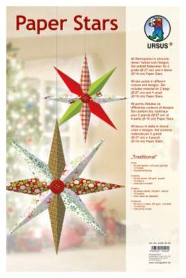 Paper Stars (Motiv: Traditional)