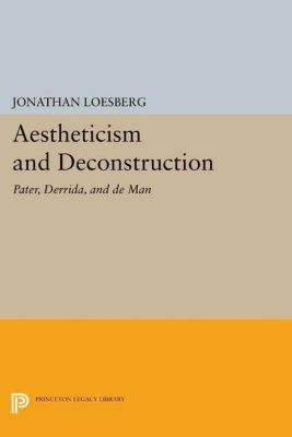 Papers of Thomas Jefferson, Second Series: Aestheticism and Deconstruction, Jonathan Loesberg