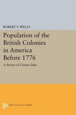 Papers of Thomas Jefferson, Second Series: Population of the British Colonies in America Before 1776, Robert V. Wells