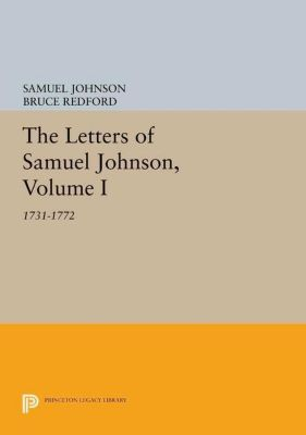 Papers of Thomas Jefferson, Second Series: The Letters of Samuel Johnson, Volume I, Samuel Johnson