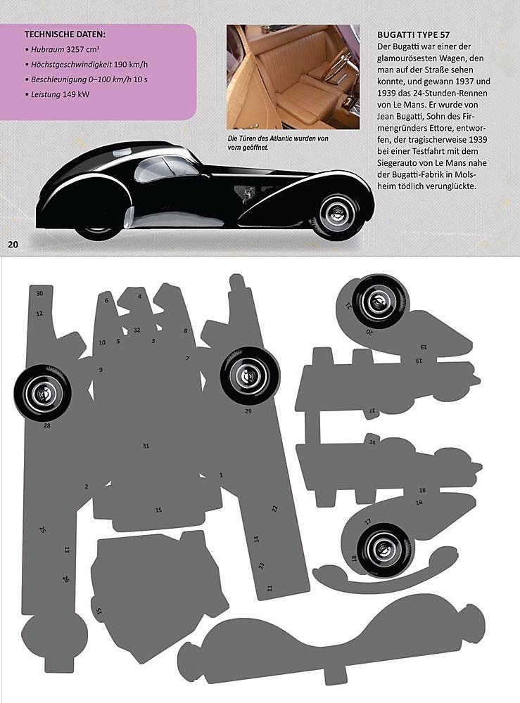 Papertoys Autos Buch Von Simon Heptinstall Portofrei Bestellen