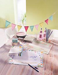 Papier-Tischsets + Servietten, 80-tlg. Set - Produktdetailbild 4