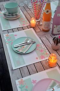 Papier-Tischsets + Servietten, 80-tlg. Set - Produktdetailbild 6