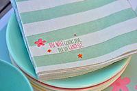 Papier-Tischsets + Servietten, 80-tlg. Set - Produktdetailbild 8
