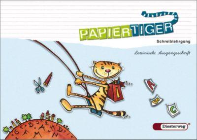 Papiertiger, Allgemeine Ausgabe, Neubearbeitung (2006): 1. Schuljahr, Schreiblehrgang, Lateinische Ausgangsschrift