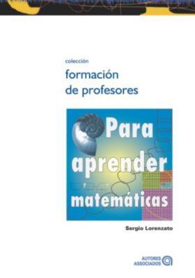 Para aprender matemáticas, Sergio Lorenzato