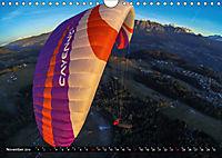 Paragliding - die Faszination des Fliegens (Wandkalender 2019 DIN A4 quer) - Produktdetailbild 11