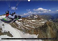 Paragliding - die Faszination des Fliegens (Wandkalender 2019 DIN A3 quer) - Produktdetailbild 8