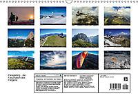 Paragliding - die Faszination des Fliegens (Wandkalender 2019 DIN A3 quer) - Produktdetailbild 13