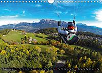 Paragliding - die Faszination des Fliegens (Wandkalender 2019 DIN A4 quer) - Produktdetailbild 9