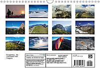 Paragliding - die Faszination des Fliegens (Wandkalender 2019 DIN A4 quer) - Produktdetailbild 13