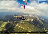 Paragliding - die Faszination des Fliegens (Wandkalender 2019 DIN A3 quer) - Produktdetailbild 4