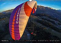 Paragliding - die Faszination des Fliegens (Wandkalender 2019 DIN A3 quer) - Produktdetailbild 11