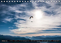 Paragliding - die Faszination des Fliegens (Tischkalender 2019 DIN A5 quer) - Produktdetailbild 10