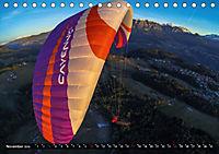Paragliding - die Faszination des Fliegens (Tischkalender 2019 DIN A5 quer) - Produktdetailbild 11
