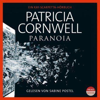 Paranoia, 2 MP3-CDs, Patricia Cornwell