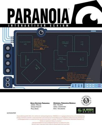 Paranoia Spielleiterschirm