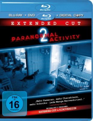 Paranormal Activity 2 Extended Version, Katie Featherston,Micah Sloat Molly Ephraim