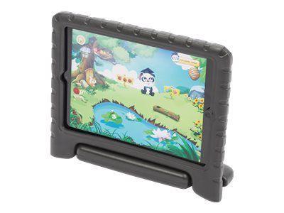 PARAT KidsCover inklusive Stylus und Screen-Cover passend für iPad (2.,3. und 4. Generation) - Schwarz