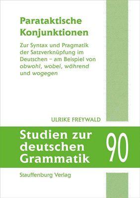 Parataktische Konjunktionen, Ulrike Freywald