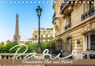 PARIS Französisches Flair und Historie (Tischkalender 2019 DIN A5 quer), Melanie Viola