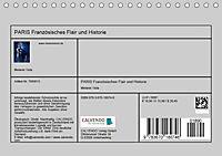 PARIS Französisches Flair und Historie (Tischkalender 2019 DIN A5 quer) - Produktdetailbild 13