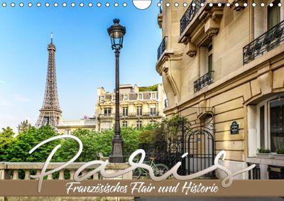 PARIS Französisches Flair und Historie (Wandkalender 2019 DIN A4 quer), Melanie Viola
