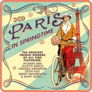 Paris In Springtime (Lim.Metalbox Ed), Diverse Interpreten
