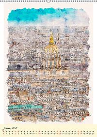 Paris - malerische Metropole (Wandkalender 2019 DIN A2 hoch) - Produktdetailbild 1