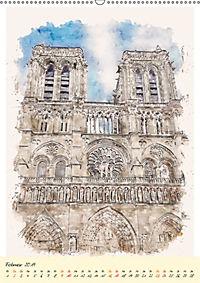 Paris - malerische Metropole (Wandkalender 2019 DIN A2 hoch) - Produktdetailbild 2