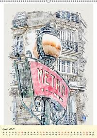 Paris - malerische Metropole (Wandkalender 2019 DIN A2 hoch) - Produktdetailbild 4