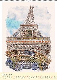 Paris - malerische Metropole (Wandkalender 2019 DIN A2 hoch) - Produktdetailbild 9