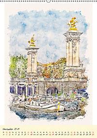 Paris - malerische Metropole (Wandkalender 2019 DIN A2 hoch) - Produktdetailbild 11