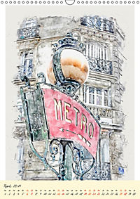 Paris - malerische Metropole (Wandkalender 2019 DIN A3 hoch) - Produktdetailbild 4