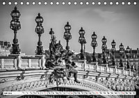 PARIS Monochrome Impressionen (Tischkalender 2019 DIN A5 quer) - Produktdetailbild 7